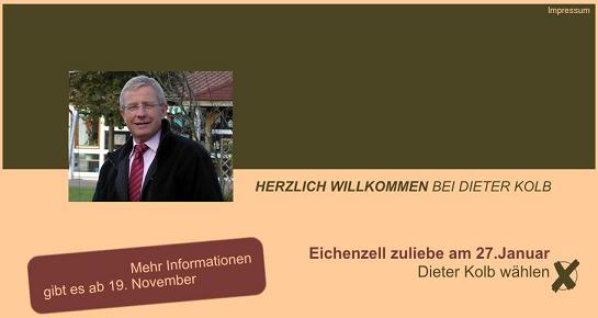 Website Dieter Kolb